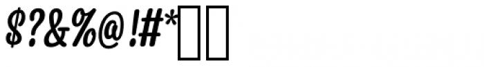 Snooker Script Medium Font OTHER CHARS
