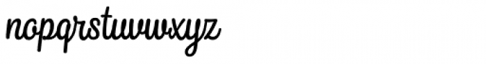 Snooker Script Regular Font LOWERCASE