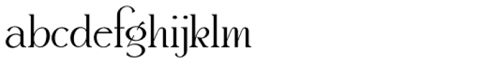 Snooty Fox NF Font LOWERCASE