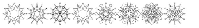 Snow Font LOWERCASE
