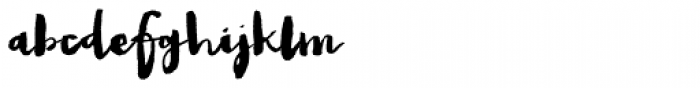 Snowberry Font LOWERCASE