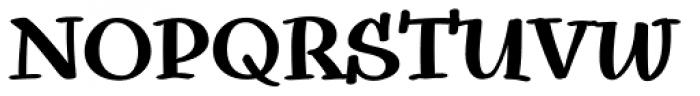 Snowbird Bold Font UPPERCASE
