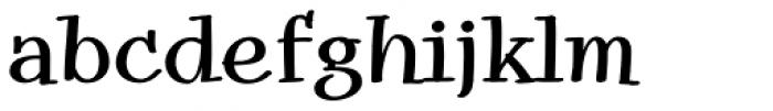 Snowbird Medium Font LOWERCASE
