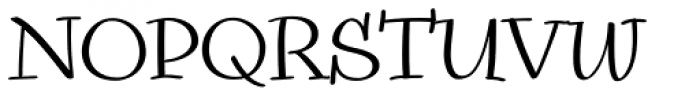 Snowbird Regular Font UPPERCASE