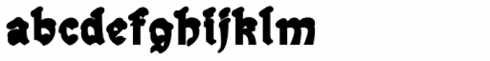 Snowgoose Back Font LOWERCASE