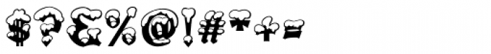 Snowgoose Font OTHER CHARS