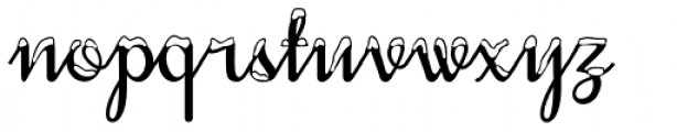 Snowhouse Font LOWERCASE