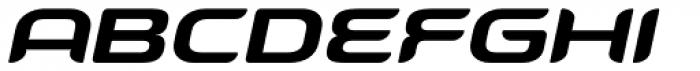 Snowslider SCBold Italic Font UPPERCASE