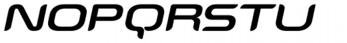 Snowslider SCItalic Font UPPERCASE