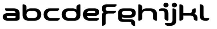 Snowslider Standard Font LOWERCASE