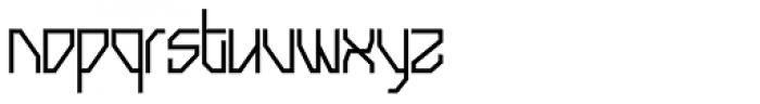 Snowstreet Font LOWERCASE
