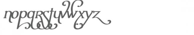 snf ambrosia bold oblique Font UPPERCASE
