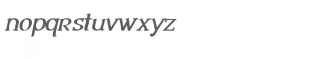 snf ambrosia bold oblique Font LOWERCASE