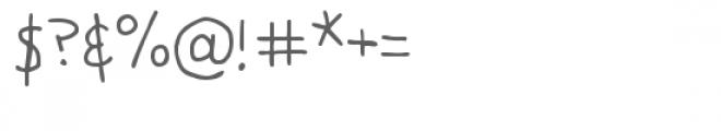 snf teacher's pet Font OTHER CHARS