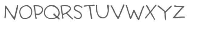 snf teacher's pet Font UPPERCASE