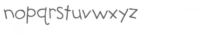 snf teacher's pet Font LOWERCASE
