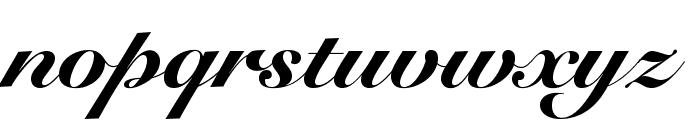 SnellRoundhandLTStd-BlkScr Font LOWERCASE