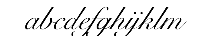 SnellRoundhandLTStd-Scr Font LOWERCASE