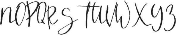 So Fresh otf (400) Font UPPERCASE
