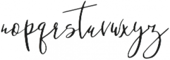 So Fresh otf (400) Font LOWERCASE