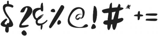 Sobbers Regular otf (400) Font OTHER CHARS