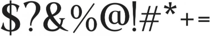 Sochelia Regular otf (400) Font OTHER CHARS