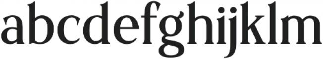 Sochelia Regular otf (400) Font LOWERCASE