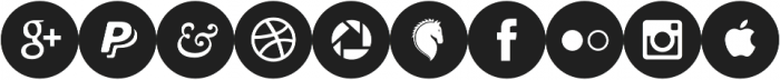 Socialistic Circles otf (400) Font OTHER CHARS