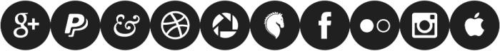Socialistic Circles ttf (400) Font OTHER CHARS