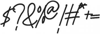 Sociere otf (400) Font OTHER CHARS