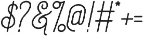 Society Script otf (400) Font OTHER CHARS