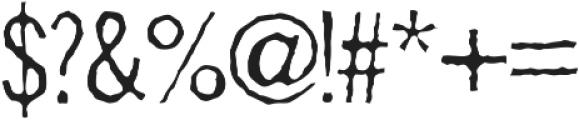 Sodomy Pro AOE Regular otf (400) Font OTHER CHARS