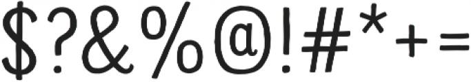 Sofa Sans Mono otf (400) Font OTHER CHARS