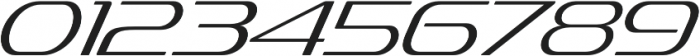 Sofachrome ExtraLight Italic otf (200) Font OTHER CHARS