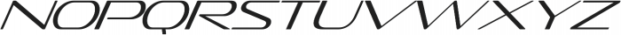 Sofachrome ExtraLight Italic otf (200) Font LOWERCASE