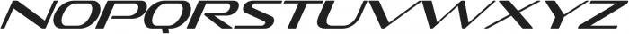 Sofachrome Light Italic otf (300) Font LOWERCASE