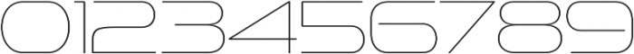 Sofachrome UltraLight otf (300) Font OTHER CHARS