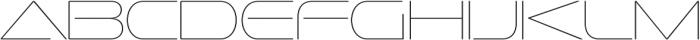 Sofachrome UltraLight otf (300) Font LOWERCASE