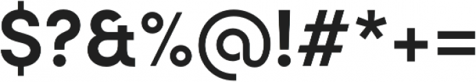Sofia Pro Semi Bold otf (600) Font OTHER CHARS