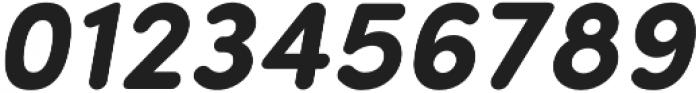 Sofia Pro Soft Bold Italic otf (700) Font OTHER CHARS