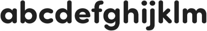Sofia Pro Soft Bold otf (700) Font LOWERCASE