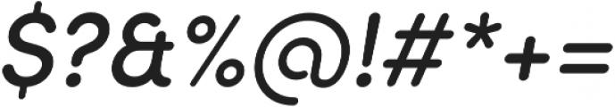 Sofia Pro Soft Medium Italic otf (500) Font OTHER CHARS