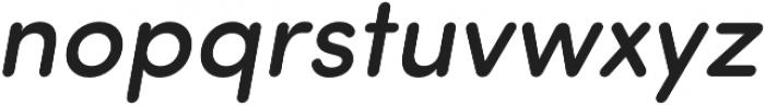 Sofia Pro Soft Medium Italic otf (500) Font LOWERCASE