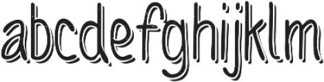 Sofia Rough Script One otf (400) Font UPPERCASE