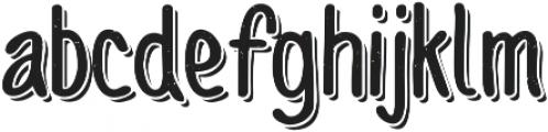 Sofia Rough Script Two otf (400) Font LOWERCASE