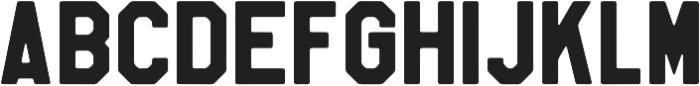 Soft Block Heavy otf (800) Font UPPERCASE