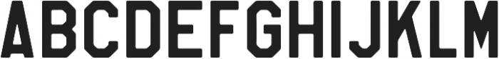 Soft Block Middle otf (400) Font UPPERCASE
