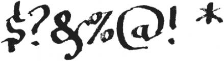 Soft Notes SVG ttf (400) Font OTHER CHARS