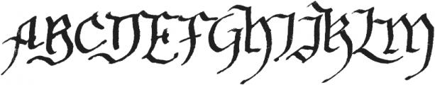 Soft Notes otf (400) Font UPPERCASE