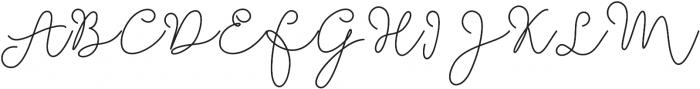 Soft Whisperings Bold otf (700) Font UPPERCASE